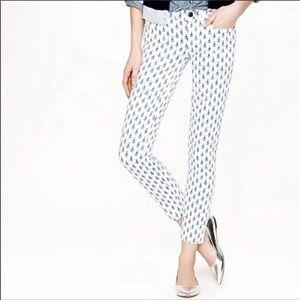 JCew Thistle Print Toothpick Jeans